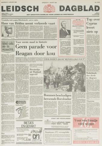 Leidsch Dagblad 1985-01-21