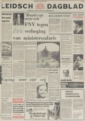 Leidsch Dagblad 1977-09-30