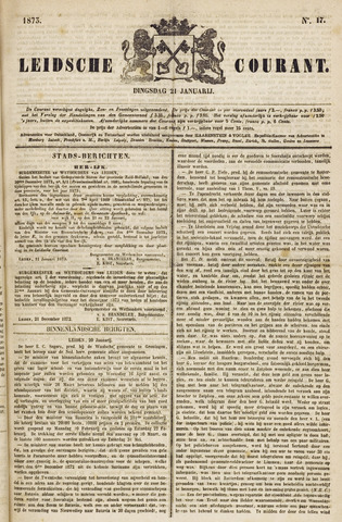 Leydse Courant 1873-01-21