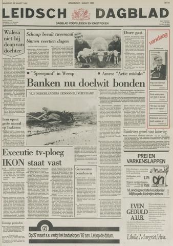 Leidsch Dagblad 1982-03-22