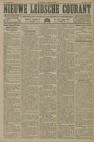 Nieuwe Leidsche Courant 1927-01-08