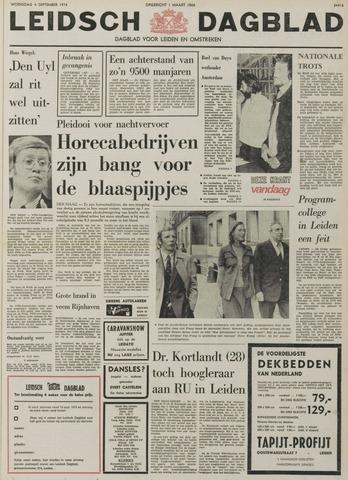 Leidsch Dagblad 1974-09-04