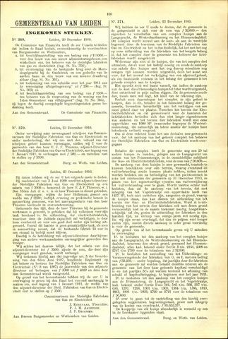Handelingen van de Raad 1910-12-20