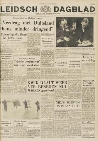 Leidsch Dagblad 1963-01-16
