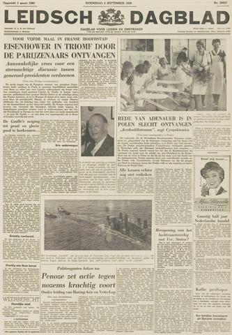 Leidsch Dagblad 1959-09-02