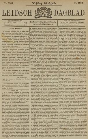 Leidsch Dagblad 1882-04-21