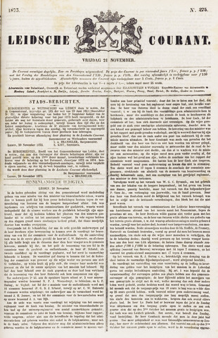Leydse Courant 1873-11-21