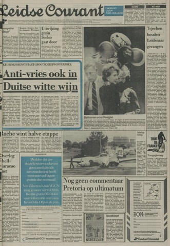 Leidse Courant 1985-07-17