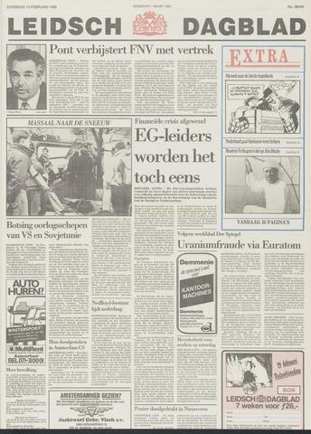 Leidsch Dagblad 1988-02-13