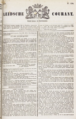 Leydse Courant 1876-11-15