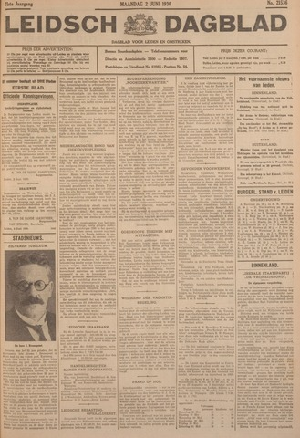 Leidsch Dagblad 1930-06-02