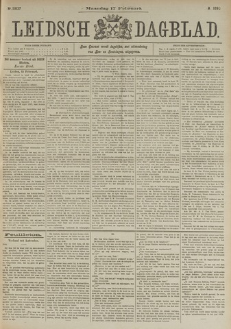 Leidsch Dagblad 1896-02-17