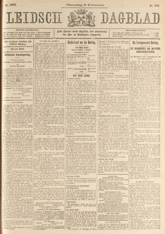 Leidsch Dagblad 1915-02-08