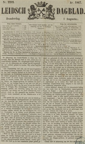 Leidsch Dagblad 1867-08-01