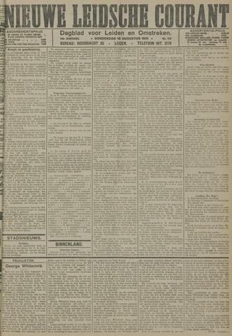 Nieuwe Leidsche Courant 1921-08-18