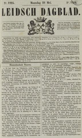 Leidsch Dagblad 1866-05-28