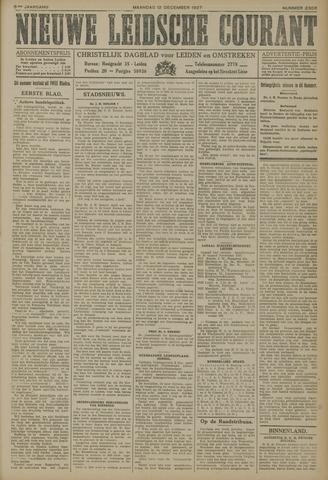 Nieuwe Leidsche Courant 1927-12-12