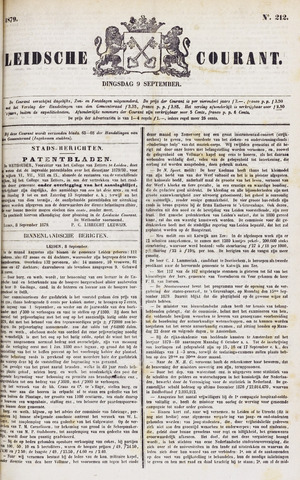 Leydse Courant 1879-09-09