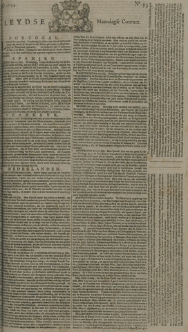 Leydse Courant 1744-08-03