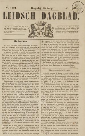 Leidsch Dagblad 1864-07-26