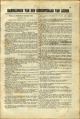 Handelingen van de Raad 1871-11-02