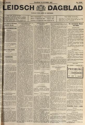 Leidsch Dagblad 1932-10-24