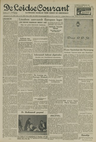 Leidse Courant 1952-02-23