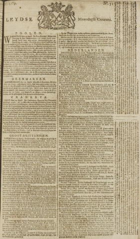Leydse Courant 1769-05-01