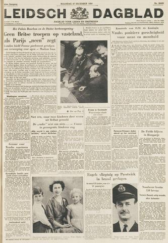Leidsch Dagblad 1954-12-27