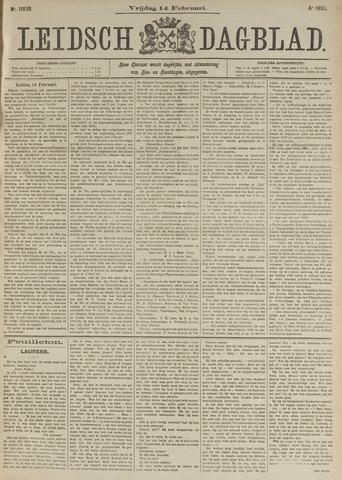 Leidsch Dagblad 1896-02-14