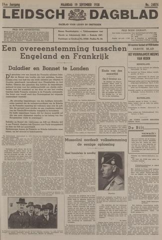 Leidsch Dagblad 1938-09-19