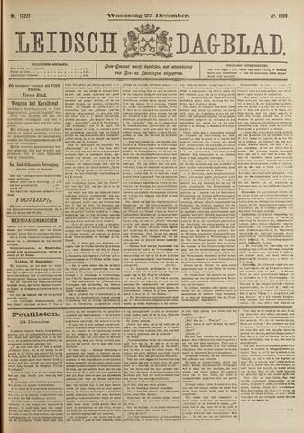 Leidsch Dagblad 1899-12-27