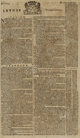 Leydse Courant 1752-01-14