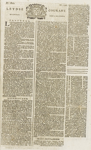 Leydse Courant 1822-10-07