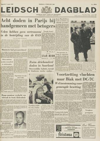 Leidsch Dagblad 1962-02-09