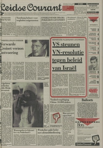 Leidse Courant 1988-01-06