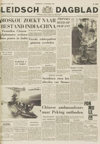 Leidsch Dagblad 1962-11-14