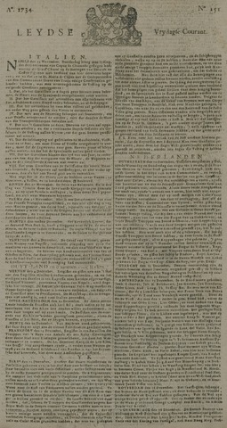 Leydse Courant 1734-12-17
