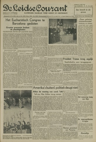 Leidse Courant 1952-06-03