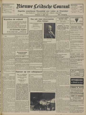 Nieuwe Leidsche Courant 1939-06-06