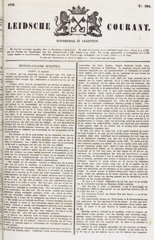 Leydse Courant 1876-08-31