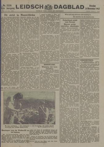 Leidsch Dagblad 1942-11-24