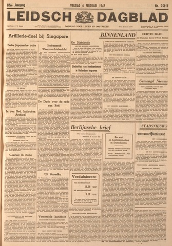 Leidsch Dagblad 1942-02-06