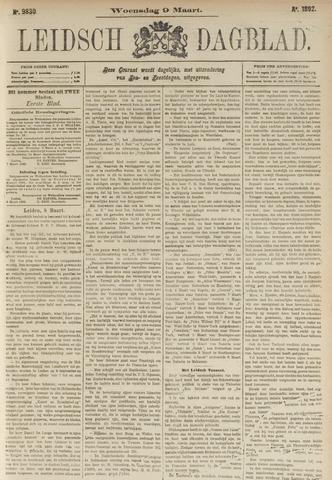 Leidsch Dagblad 1892-03-09