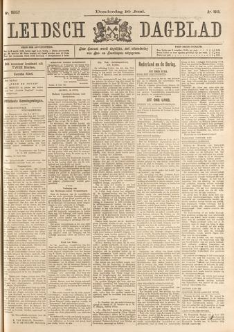 Leidsch Dagblad 1915-06-10