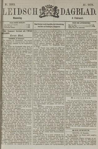 Leidsch Dagblad 1878-02-04