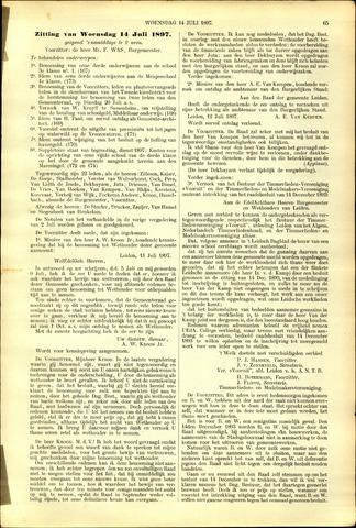 Handelingen van de Raad 1897-07-14