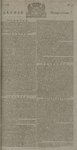 Leydse Courant 1739-03-13