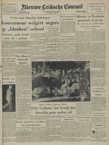 Nieuwe Leidsche Courant 1957-09-04