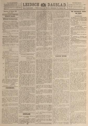 Leidsch Dagblad 1921-02-10